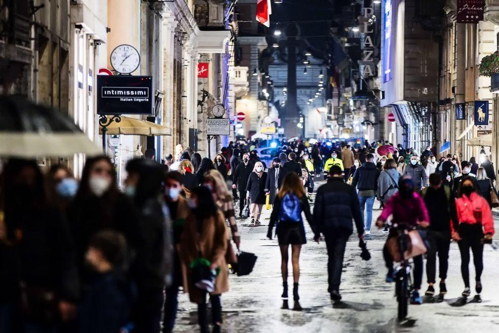 Covid-19: Itália como mais de 23 mil novos casos reforça limitações