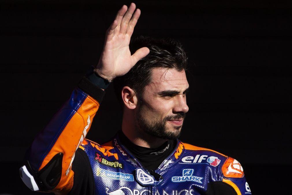 Miguel Oliveira com o quinto melhor tempo no primeiro dia de testes de MotoGP