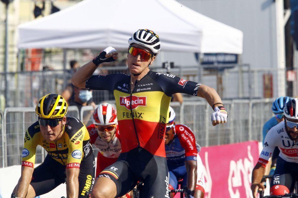 Ciclista belga Tim Merlier vence ao sprint o Grande Prémio Jean-Pierre Monseré