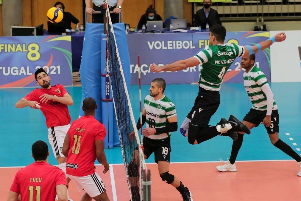 Sporting vence Benfica e conquista Taça de Portugal de voleibol pela quarta vez