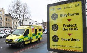 Covid-19: Reino Unido com 5.177 infeções, o número mais baixo desde setembro