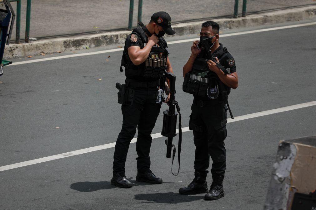 Polícia filipina matou nove pessoas associadas a
