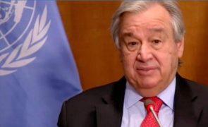Guterres diz que a crise da pandemia «tem rosto de mulher» e pede mudança