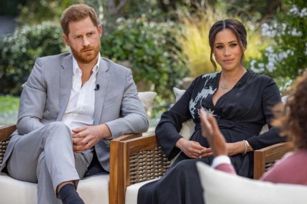 Meghan diz que família real questionava