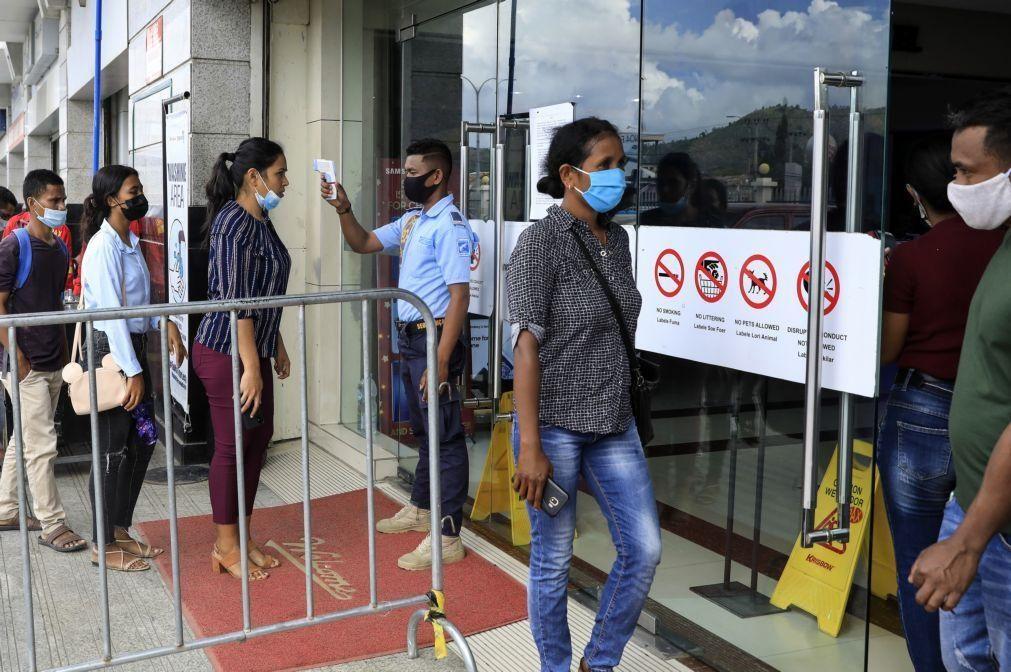 Covid-19: Autoridades timorenses anunciam mais sete casos em Díli