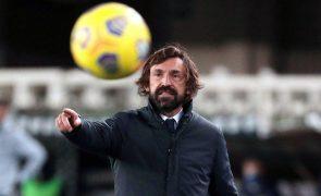 Pirlo espera Juventus paciente para reverter desvantagem frente ao FC Porto