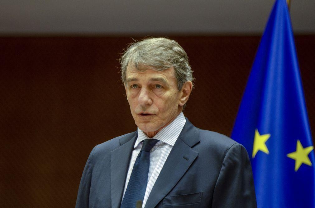 UE/Presidência: Sassoli conta com Portugal para desbloquear diretiva sobre mulheres em conselhos de administração