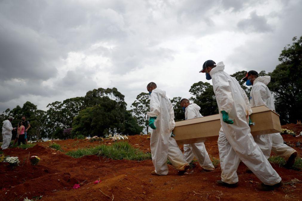 Covid-19: Mais 987 mortos e 32.321 casos no Brasil nas últimas 24 horas