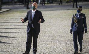 Marcelo repete chegada a pé para cerimónia de tomada de posse tal como há 5 anos