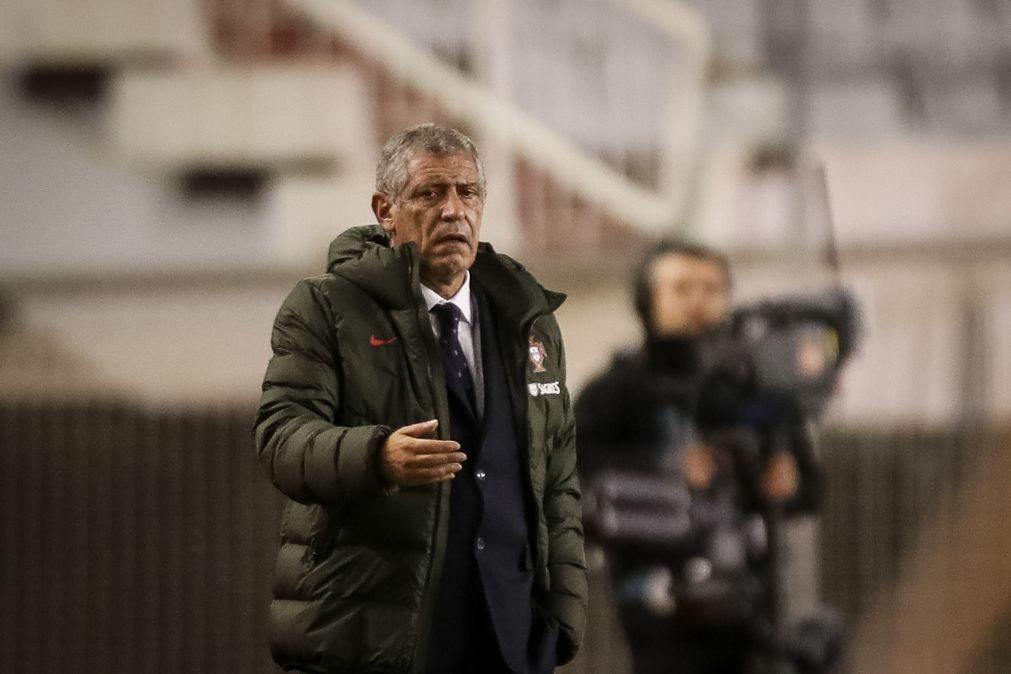 Fernando Santos divulga convocados para triplo confronto da qualificação do Mundial2022 a 16 de março