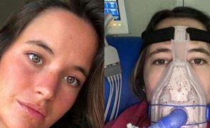 Hospital de Santa Maria pede tratamento para Constança Bradell e mais quatro doentes