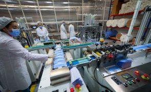 Volume de negócios na indústria diminui 8,5% em janeiro