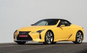 LC 500 Cabrio da Lexus eleito Melhor Automóvel de Luxo de 2021