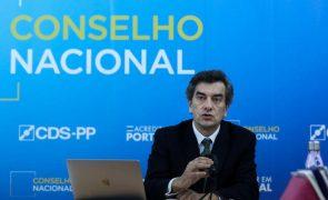 Autárquicas: Conselho Nacional do CDS-PP reune-se a 20 de março para aprovar regulamentos