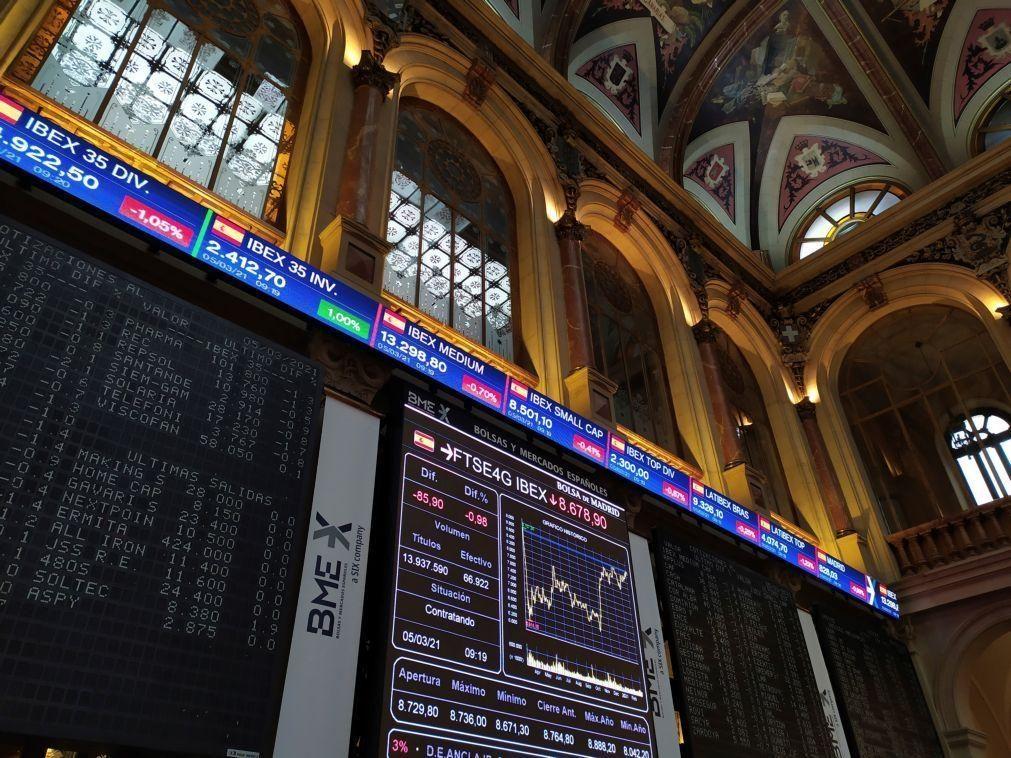 PSI20 sobe 1,04% em linha com as principais bolsas europeias