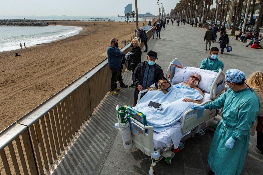 Covid-19: Espanha regista 4.013 casos e 291 mortes nas últimas 24 horas