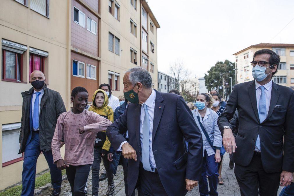 Marcelo assume-se como Presidente de todos os que vivem em Portugal