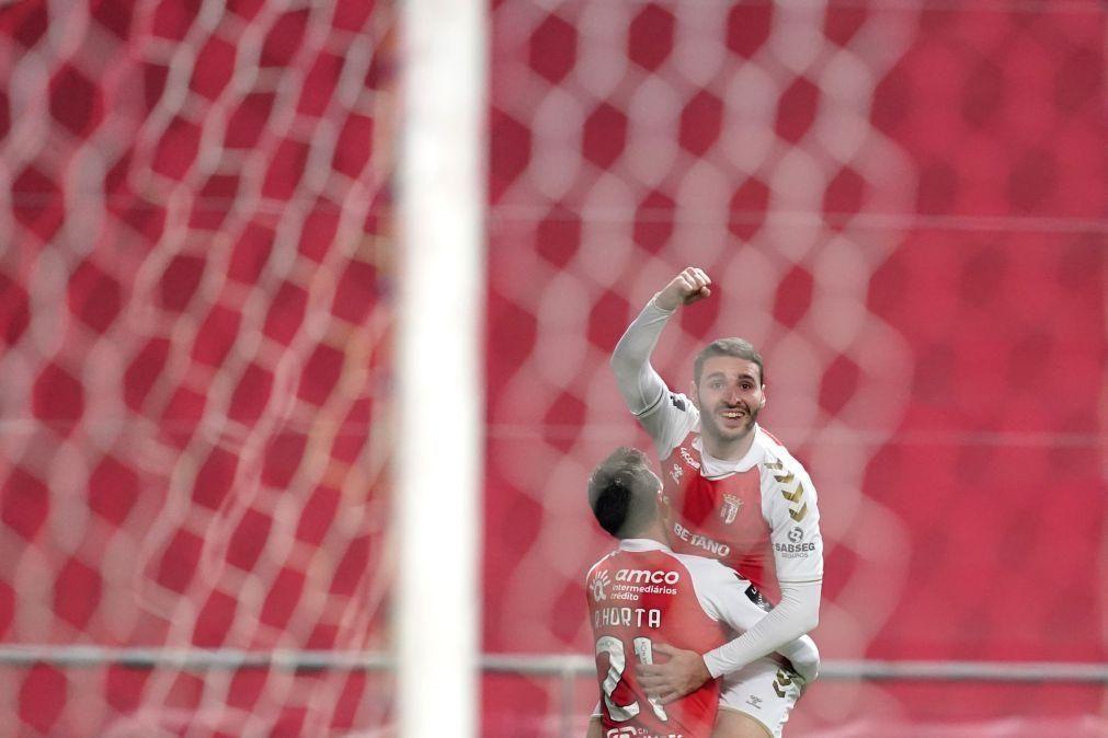 Sporting de Braga vence Vitória de Guimarães e conserva segundo lugar