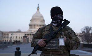 Pentágono alarga presença de militares no Capitólio dos EUA até 23 de maio
