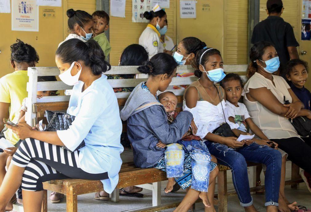 Covid-19: Mais três casos detetados em Timor-Leste