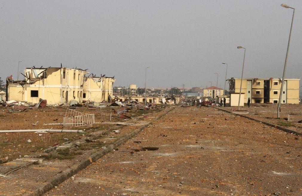 Pelo menos 300 casas destruídas e principal laboratório covid-19 danificado na Guiné Equatorial
