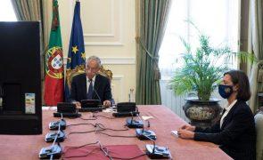 Covid-19: PR propõe renovar estado de emergência até 31 de março