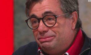 Quintino Aires em lágrimas ao recordar última frase dita pelo pai