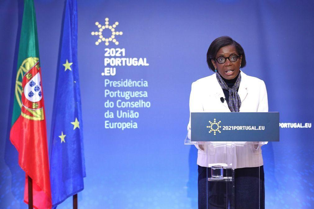 UE/Presidência: Ministros da Justiça fazem ponto da situação do estabelecimento da Procuradoria Europeia
