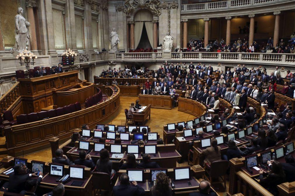 Parlamento aprova hoje renovação do estado de emergência até 31 de março