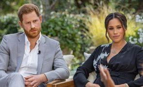 Harry e Meghan Entrevista polémica a Oprah Winfrey vai passar em Portugal