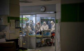 Covid-19: República Checa com novo máximo de doentes nos cuidados intensivos