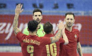 Portugal recebe Noruega no Seixal para o apuramento do Euro2022 de futsal