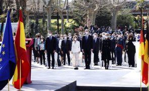 Espanha e UE homenageiam vítimas do terrorismo no 17.º aniversário dos atentados de Madrid