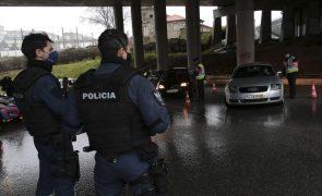 Circulação entre concelhos em Portugal continental proibida a partir das 20 horas