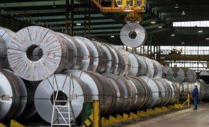 Portugal com maior queda da UE na produção industrial em janeiro ao recuar 6,5%