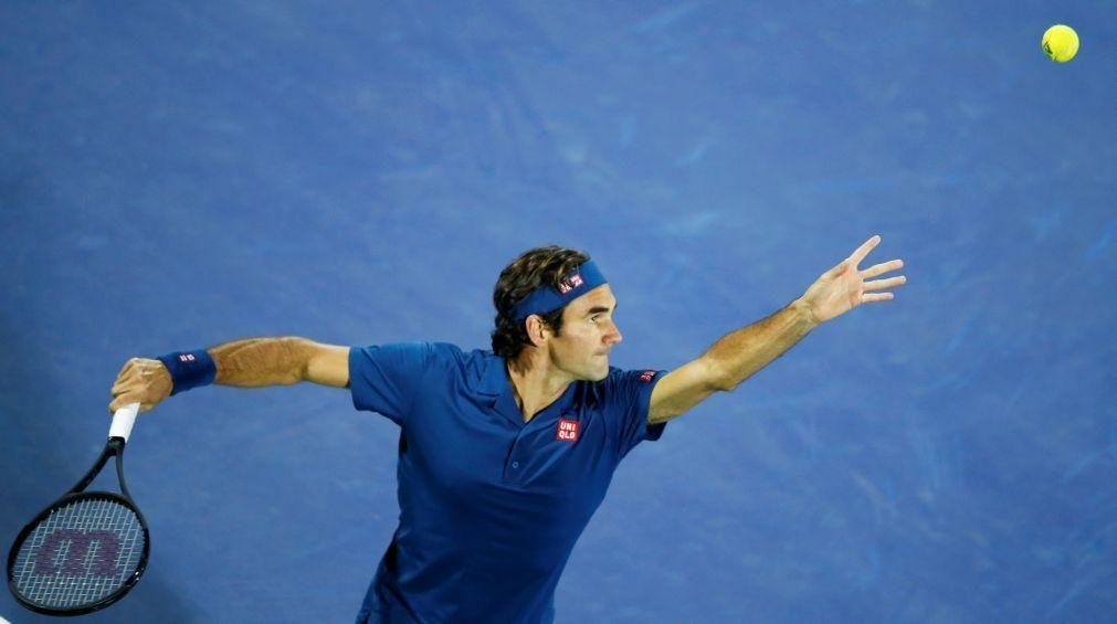 Roger Federer desiste do torneio do Dubai para voltar a treinar
