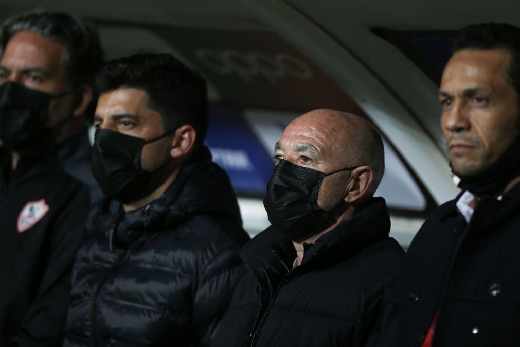 Jaime Pacheco deixa Zamalek após seis meses e uma final da 'Champions' africana