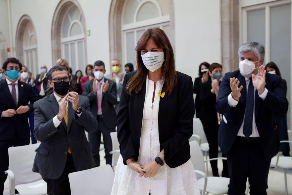Candidata independentista eleita presidente do parlamento da Catalunha