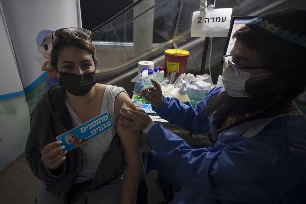Covid-19: Israel já vacinou mais de quatro milhões de pessoas com as duas doses