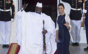 Ex-presidente da Gâmbia Yahya Jammeh associado ao homicídio de 59 migrantes