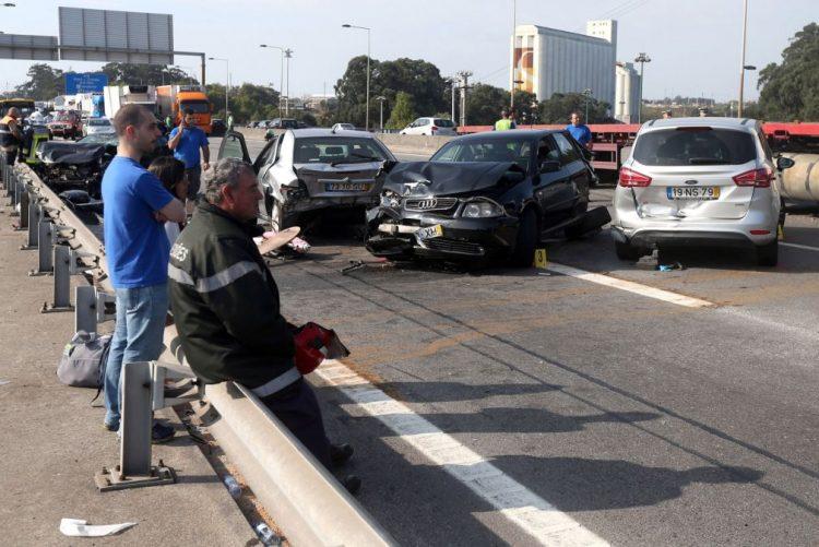 Acidentes rodoviários provocaram 409 mortos este ano