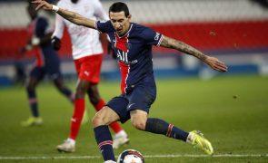 Di María renova com Paris Saint-Germain por mais uma época