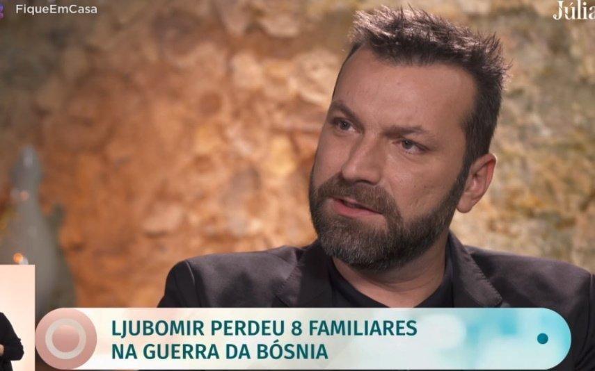 """Ljubomir Stanisic Cheiro de uma cidade morta"""". Chef recorda traumas da guerra"""