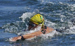 Nadadora Angélica André 16.ª na primeira etapa da Taça do Mundo de águas abertas