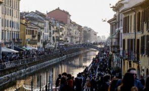 Covid-19: Itália com 26 mil contágios e 317 mortos nas últimas 24 horas