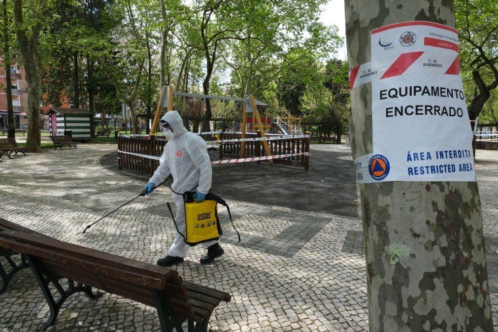 Permitida permanência em parques e bancos de jardim a partir de amanhã