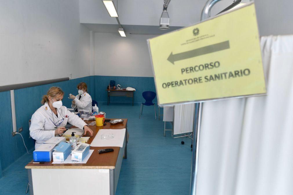 Covid-19: Itália tem como objetivo ter 80% da população vacinada até setembro