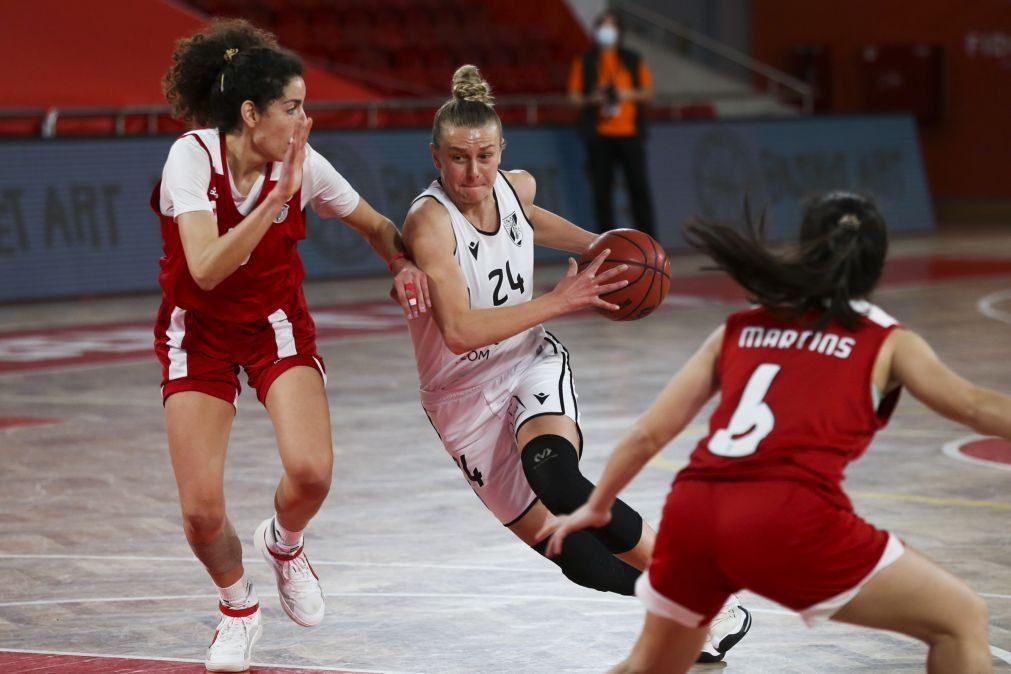 Benfica conquista Taça de Portugal de basquetebol feminino pela primeira vez