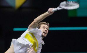 Daniil Medvedev conquista torneio de ténis de Marselha
