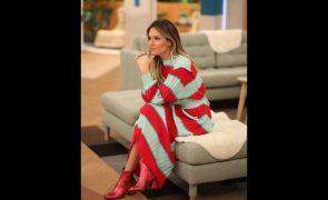 Diana Chaves Saiba onde comprar o vestido midi às ricas da apresentadora... a preço de saldos!